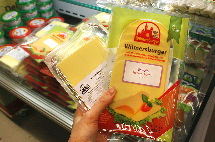 VegFest 2016 wilmersburger cheese