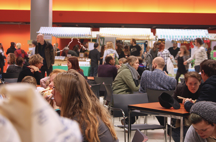 VegFest 2016 eating area