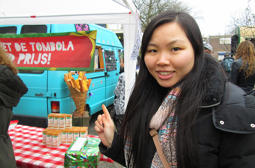 Vegan Christmas Market 2015 foodtruck
