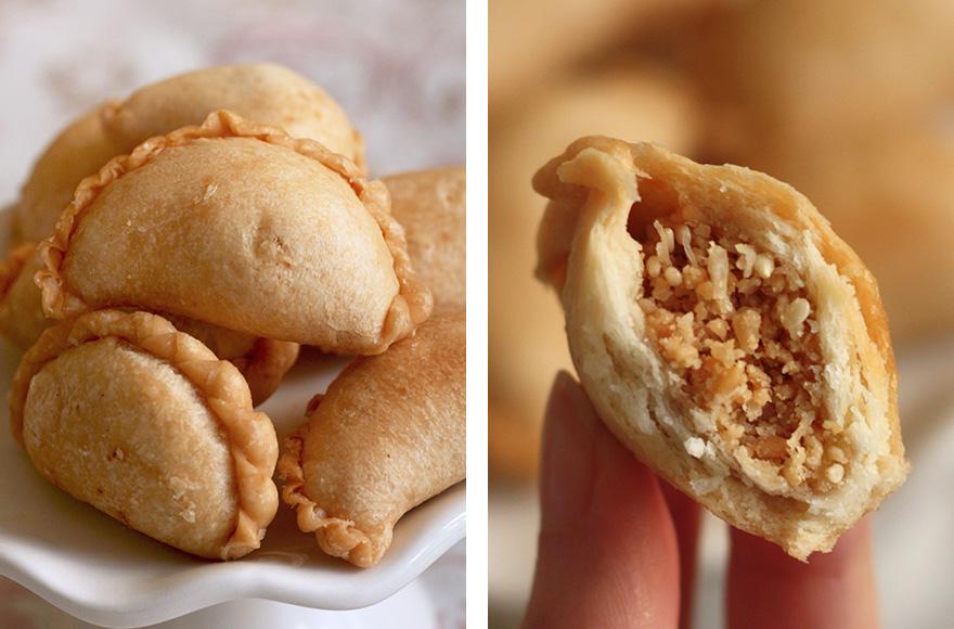 vegan chinese new year peanut puffs gok jai