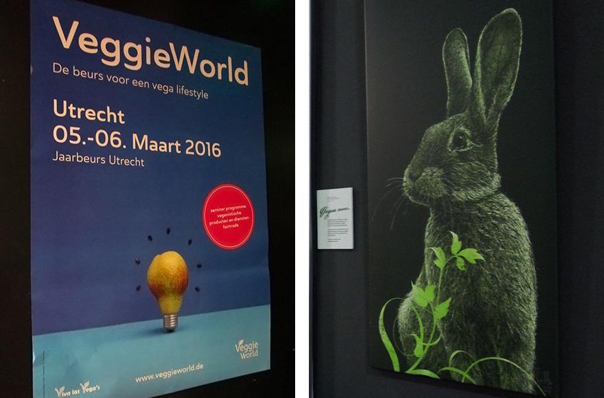 veggie world utrecht poster