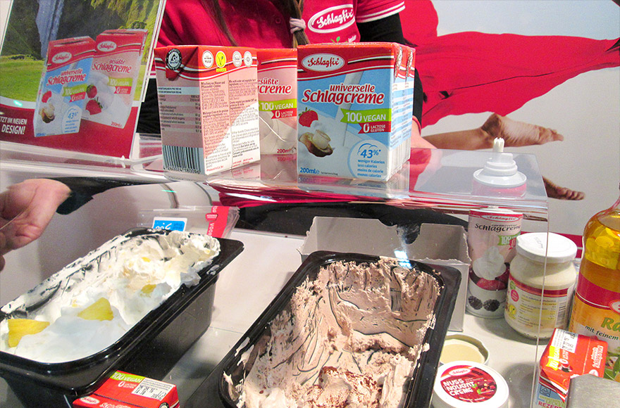 veggie world utrecht vegan whip cream