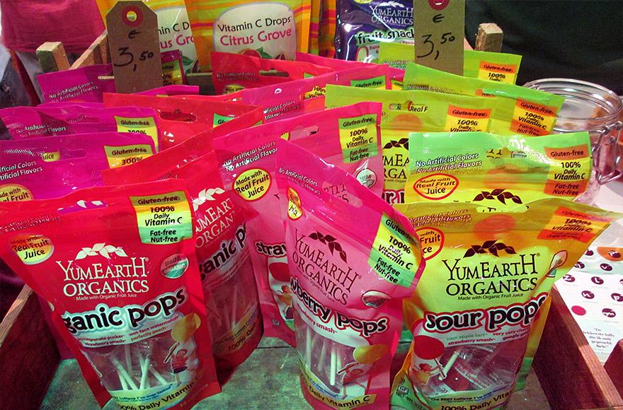 veggie world utrecht yumearth organics lollipops