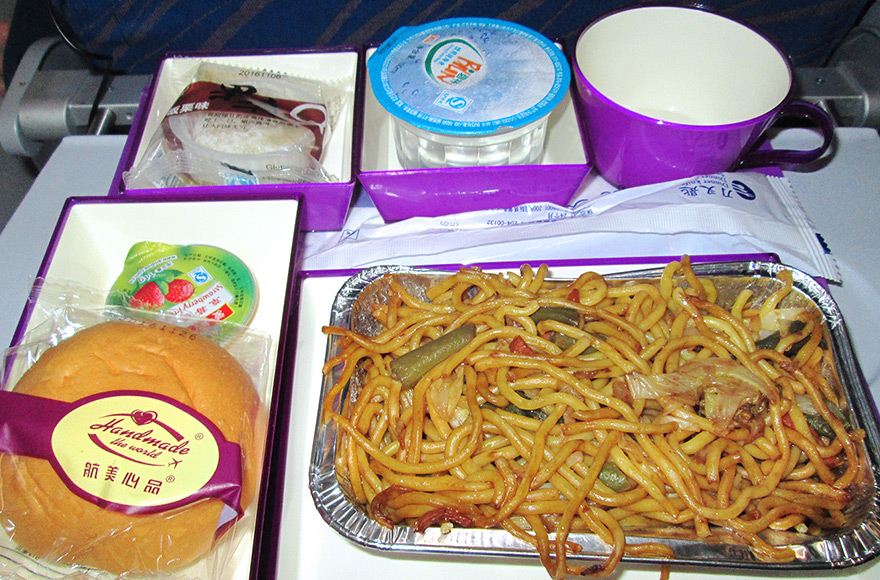 vegan and vegetarian inflight meals china southern airlines VOML