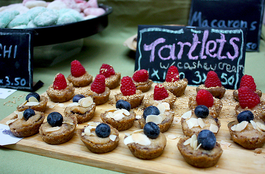 vegan food festival 2016 tartlets