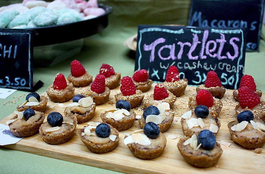 vegan food festival 2016 tartlets