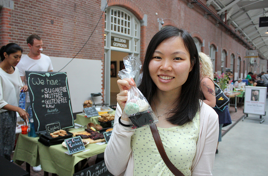 vegan food festival 2016 mochi