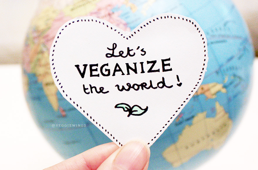 veggiewings let's veganize the world